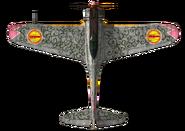 Chika Ki-43 top