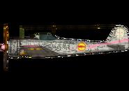 Chika Ki-43 side