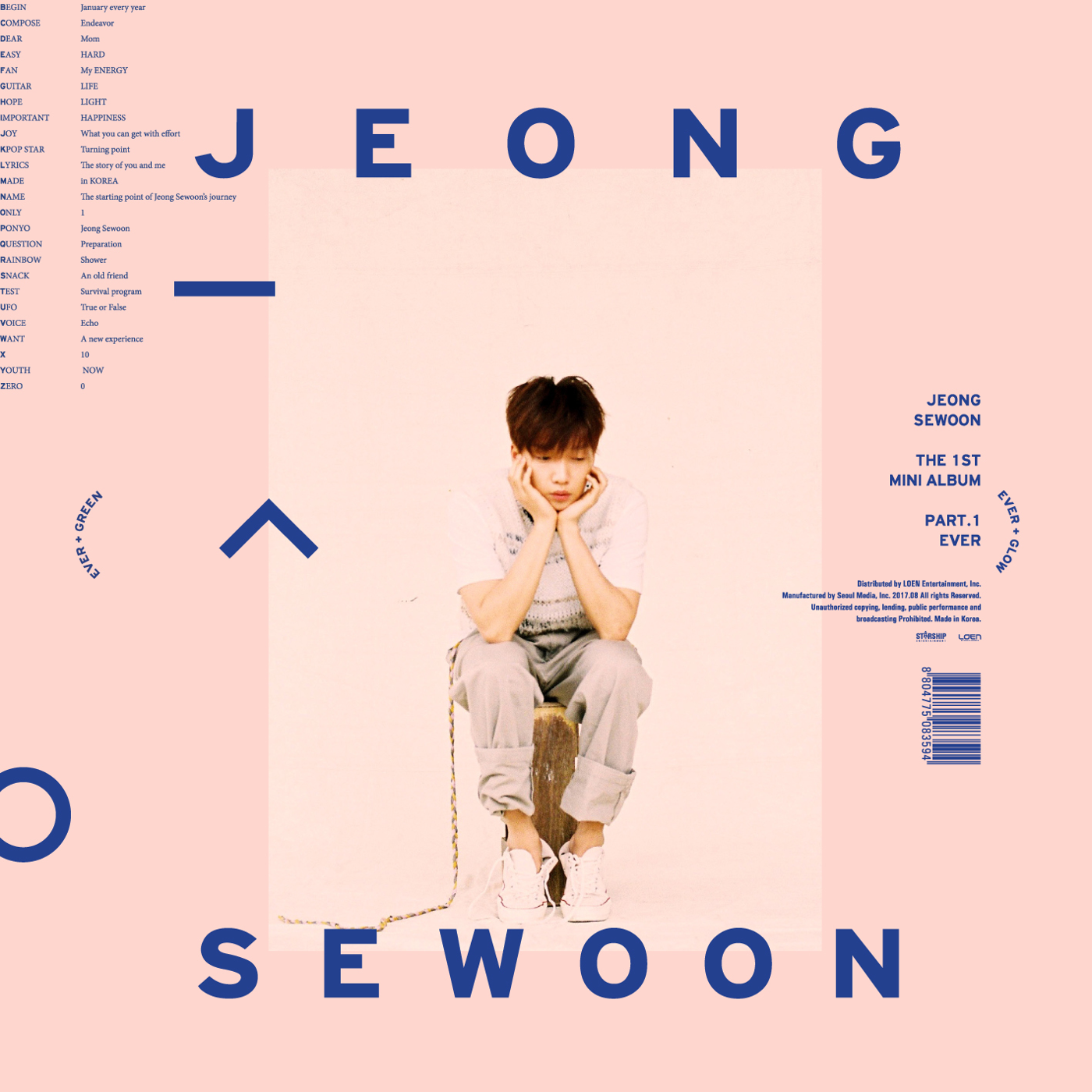 The 1st Mini Album (Jeong Sewoon)