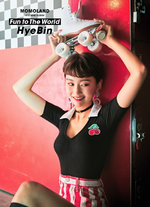 MOMOLAND Hyebin Fun To The World promo photo