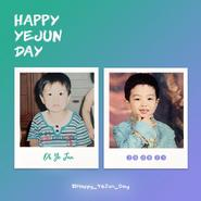 E'LAST Oh Yejun birthday Twitter post (August 23, 2020)
