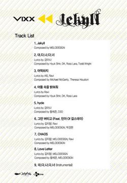 VIXX Jekyll track list.png