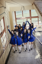 Fromis 9 To. Heart group promo photo