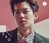 EXO Countdown Suho edition cover art