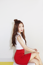 Brave Girls Yujeong High Heels promotional photo