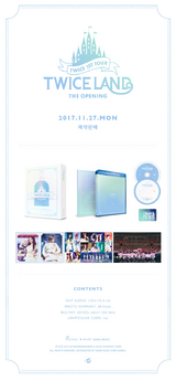 TWICELAND The Opening Blu-Ray detail