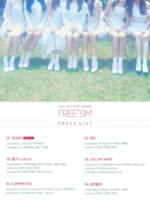 CLC Free'sm track list