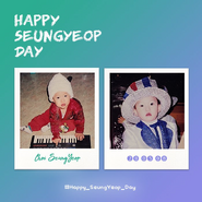 E'LAST Seung Yeop birthday Twitter post (May 8, 2020)