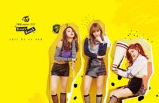TWICE TWICEcoaster Lane 2 Chaeyoung Momo Dahyun unit promo