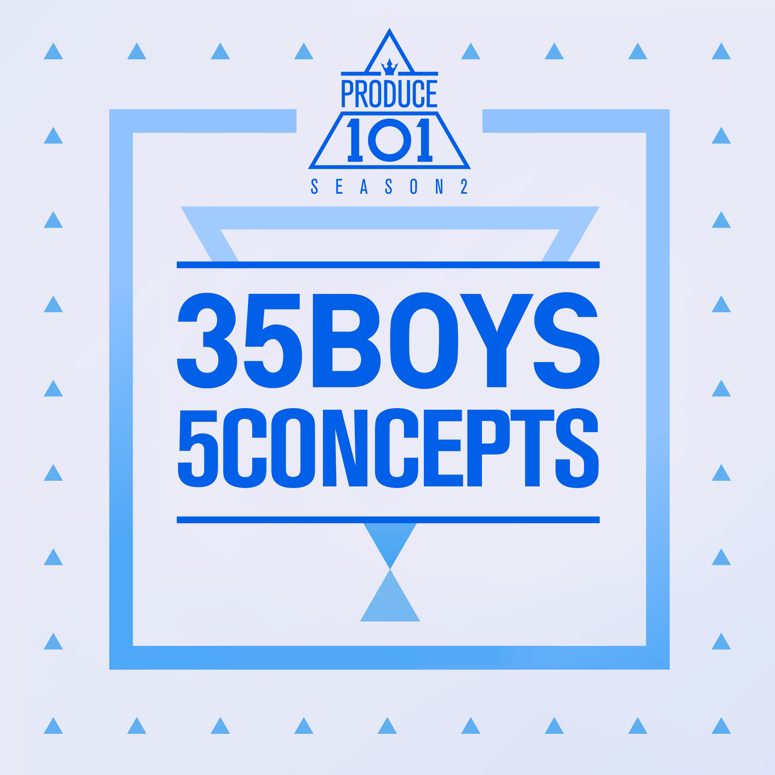 Produce 101: 35 Boys 5 Concepts