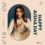 EVERGLOW Aisha's birthday Twitter post (July 21, 2021)