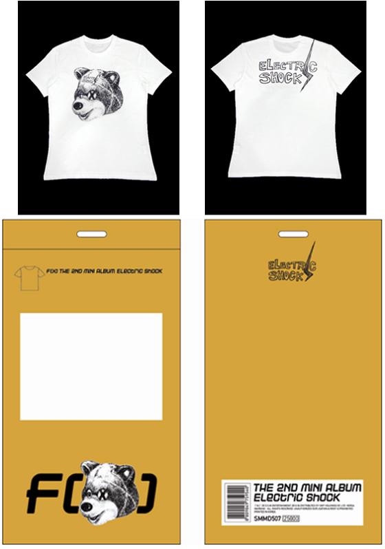 F(x) Electric Shock merch t-shirt B.png