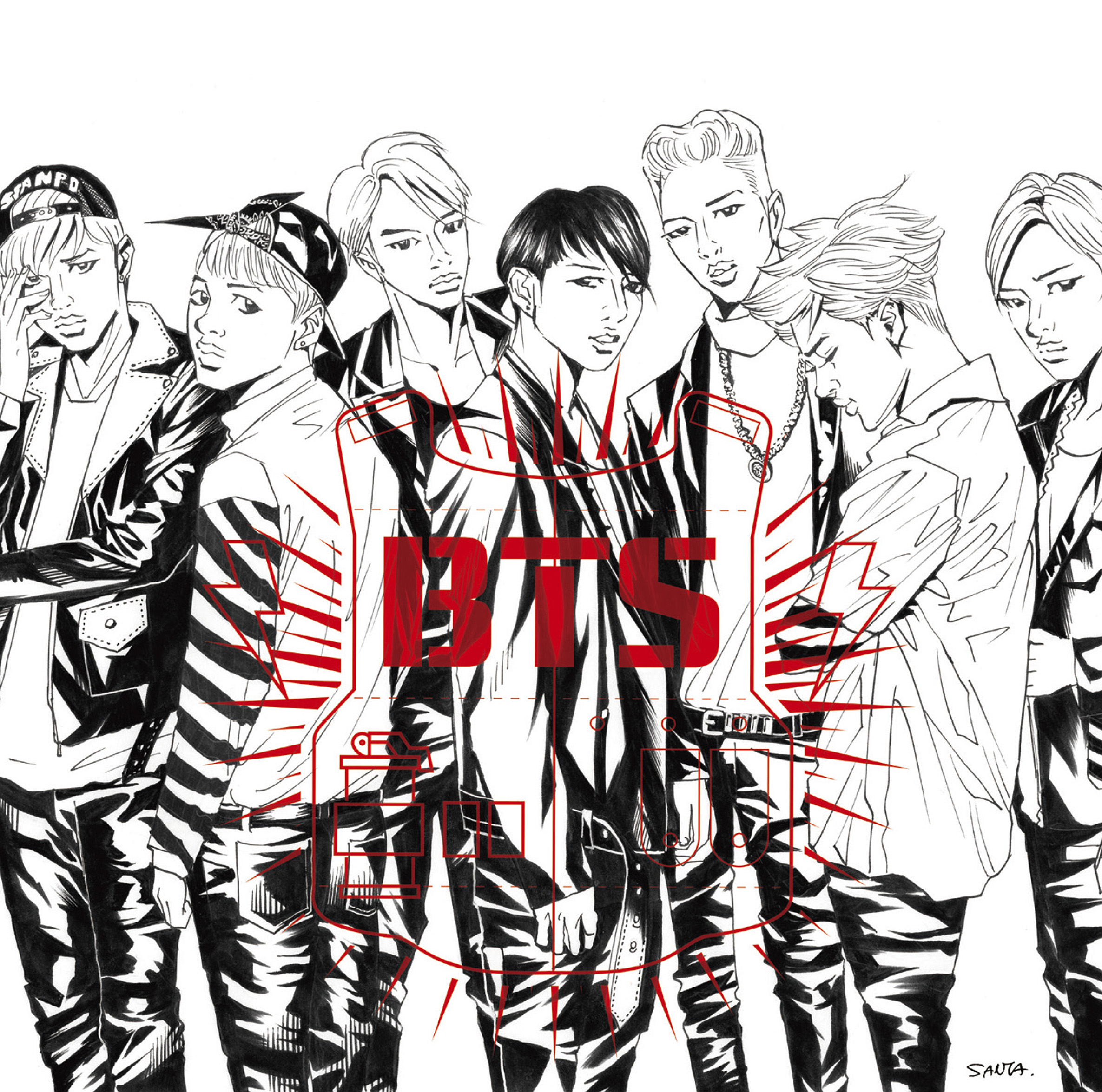 BTS Danger Japan Single Limited Edition B.png