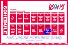 HOT ISSUE Icons schedule