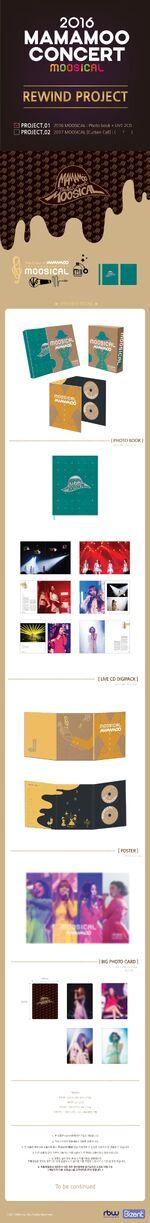 MAMAMOO Moosical PhotoBook CD