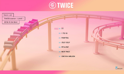 TWICE TWICEcoaster Lane 1 track list