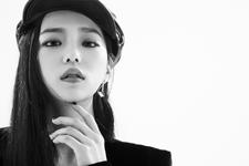 CLC Yeeun Black Dress promo photo