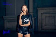 CLC Seungyeon Devil promo photo 2