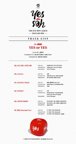 TWICE Yes or Yes tracklist