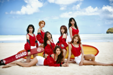 AOA Good Luck group photo