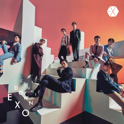 EXO Countdown regular CD+Blu-Ray edition cover art.png