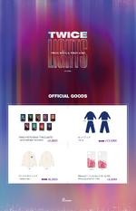TWICE TWICELIGHTS Tokyo Dome online merchandise