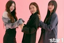 STAYC Seeun Sieun Yoon Star1 November 2020 Issue