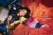 Somi Birthday D-3 teaser photo