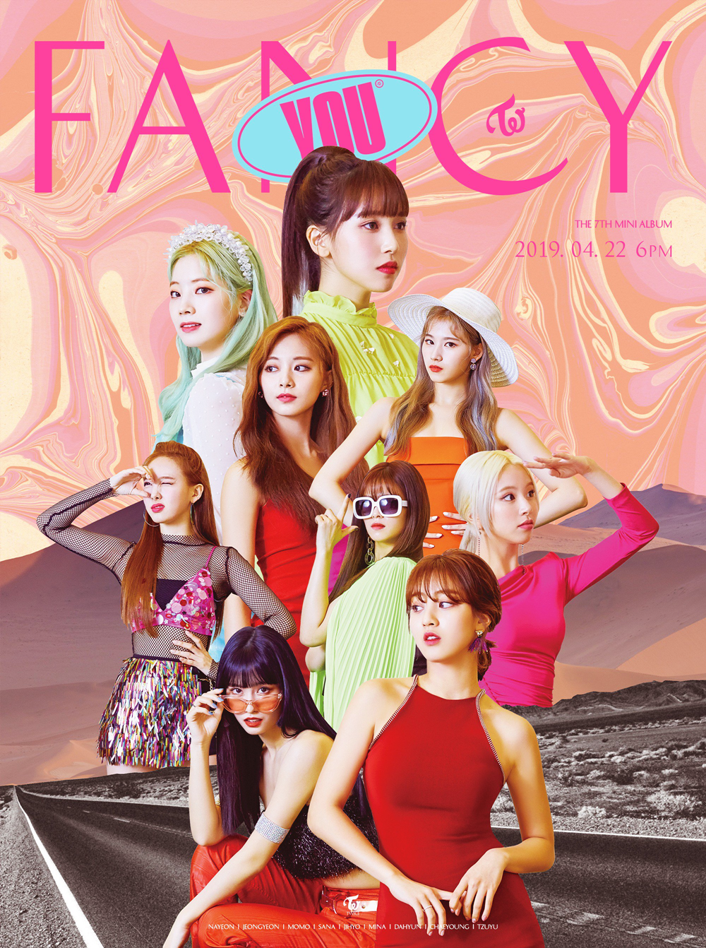 TWICE Fancy You group teaser poster 1.png
