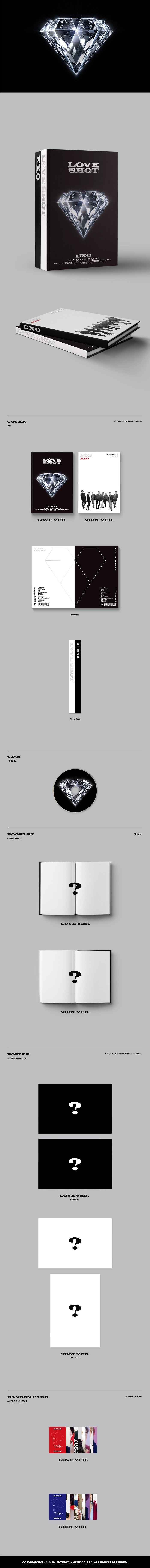 EXO Love Shot album content.png