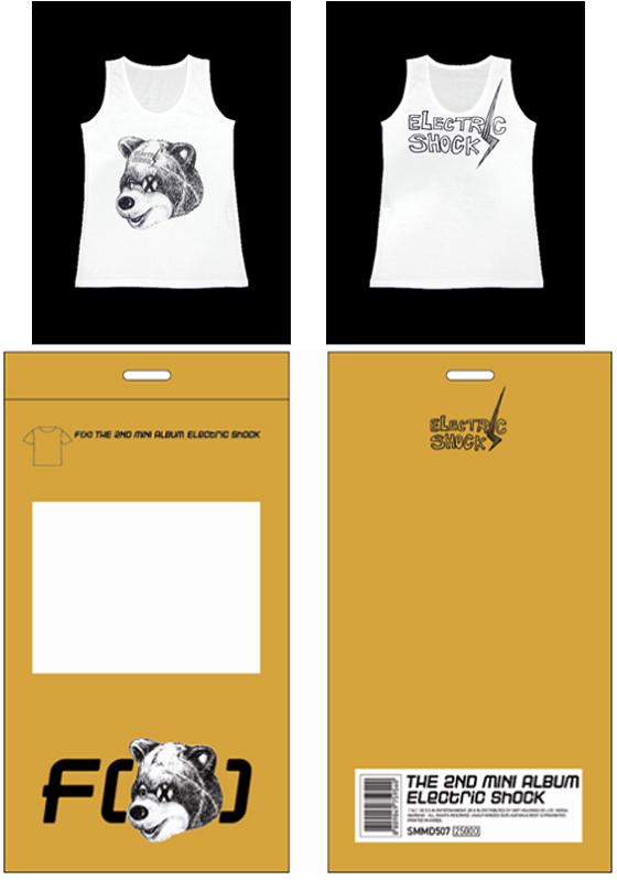 F(x) Electric Shock merch t-shirt C.png