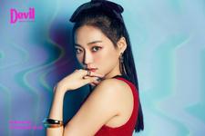 CLC Yeeun Devil promo photo 1