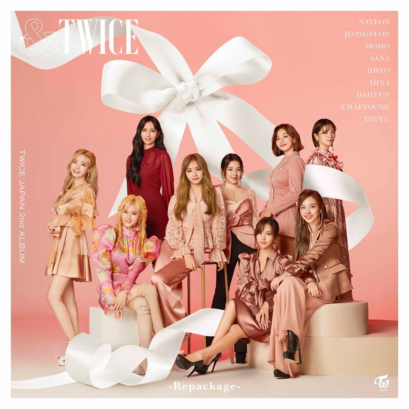TWICE &TWICE Repackage album cover (Limited Ed.).png