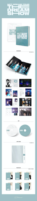 NCT Dream The Dream Show album packaging