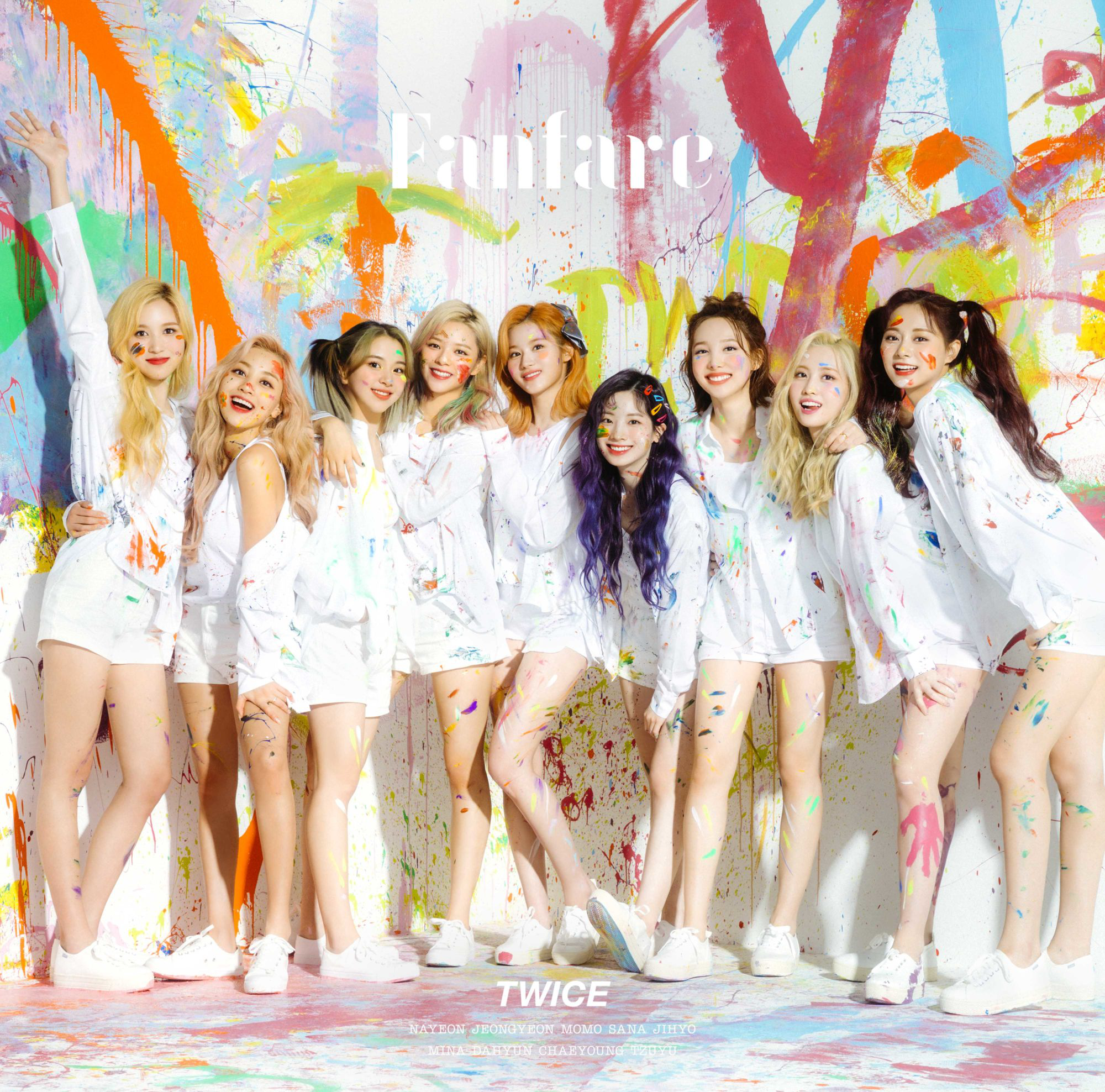 TWICE Fanfare Regular Edition cover.png