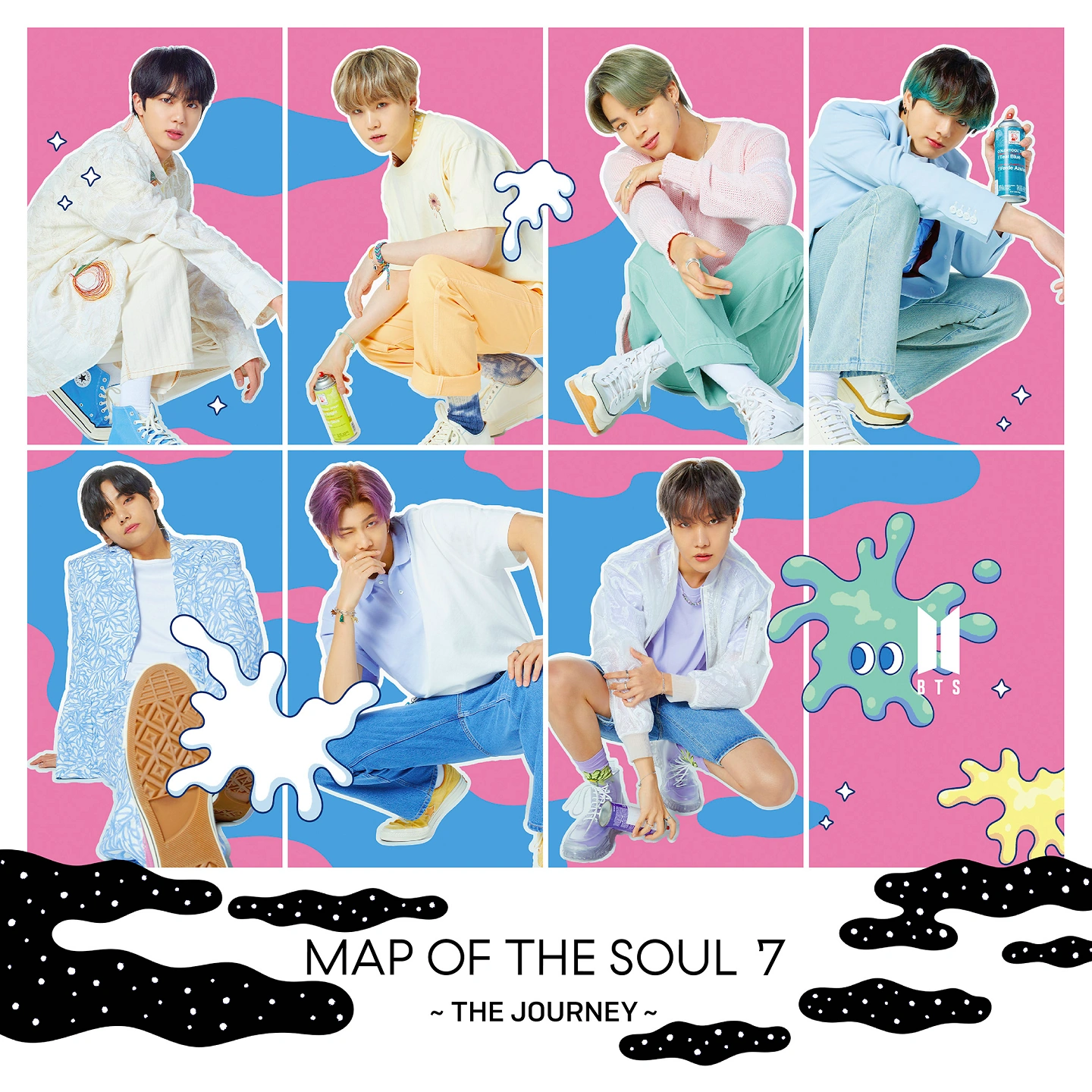 BTS Map of the Soul 7 The Journey UMS Limited Edition album cover.png