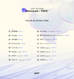 GOT7 Present You track running time