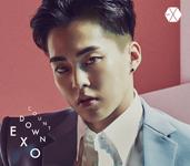 EXO Countdown Xiumin edition cover art