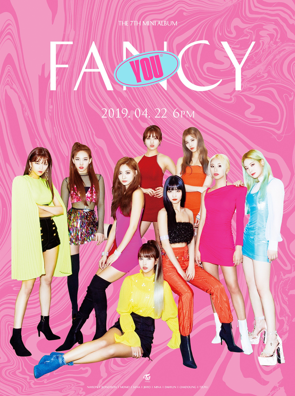 TWICE Fancy You group teaser poster 3.png