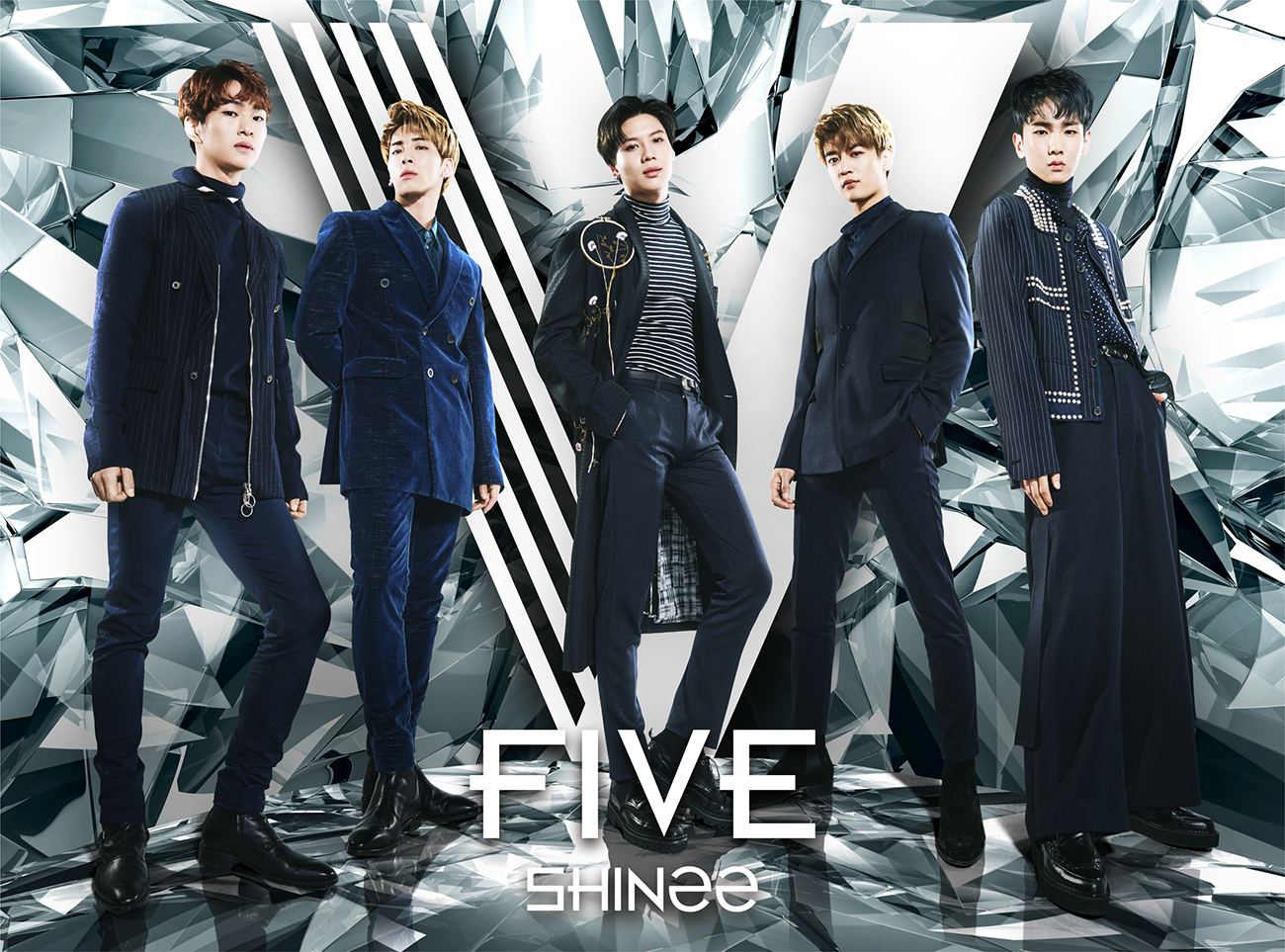 SHINee FIVE Limited Edition A & B cover.png