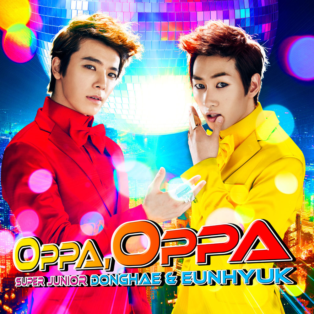 Oppa, Oppa (японский сингл)
