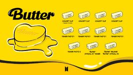 BTS Butter promotion schedule