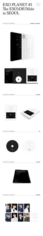 EXO EXO Planet -3 - The EXO'rdium (Dot) album details
