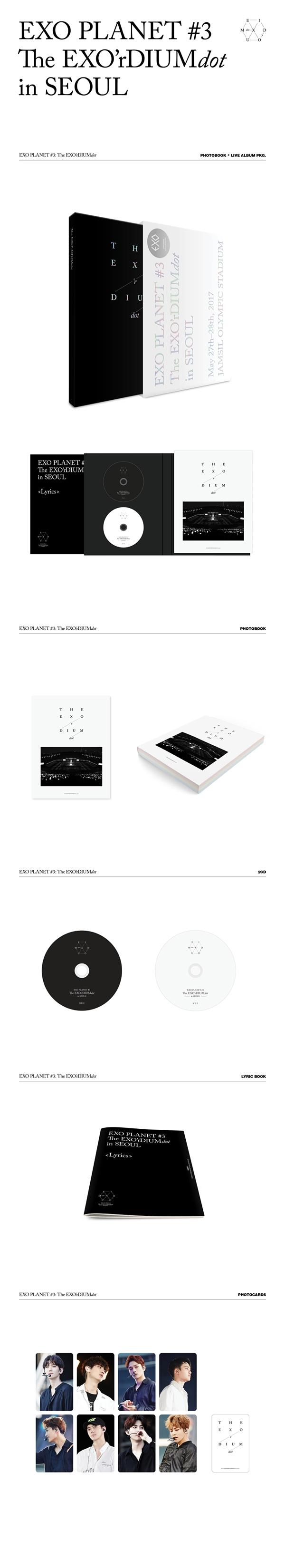 EXO EXO Planet -3 - The EXO'rdium (Dot) album details.png