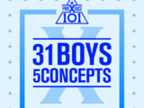Produce X 101: 31 Boys 5 Concepts