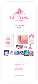 TWICELAND The Opening DVD detail