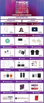 TWICE TWICELIGHTS Singapore merchandise