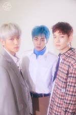 EXO-CBX Blooming Days group promo photo