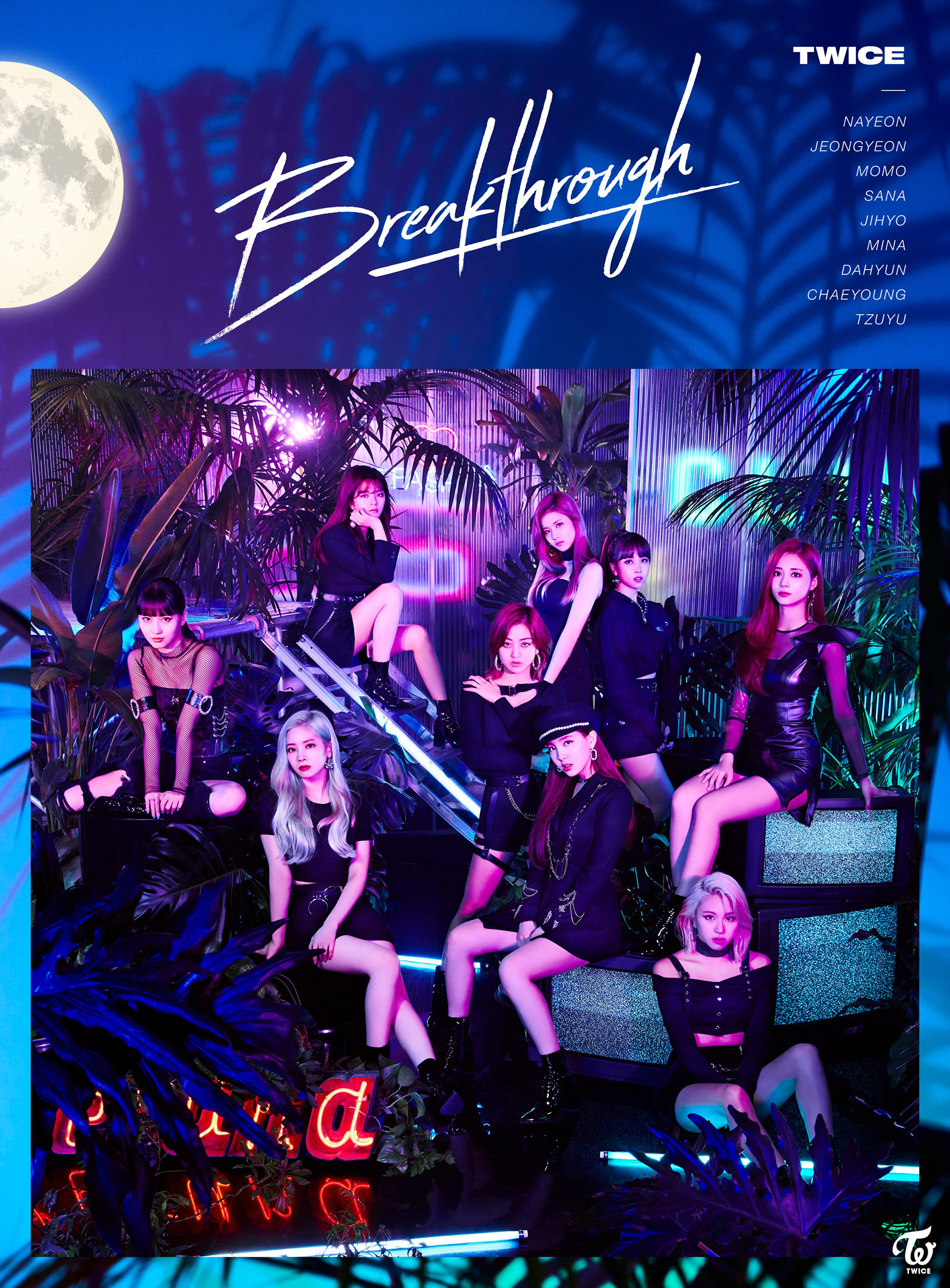 TWICE Breakthrough group poster 1.png