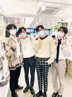 24K Daehyung Maknae webtoon sns post